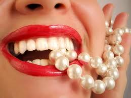 sonrisa de perlas