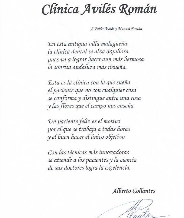 Poema Clinica Dental