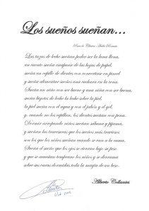 Poema Los Sueños Sueñan