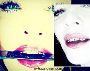 Madonna luce su nueva sonrisa